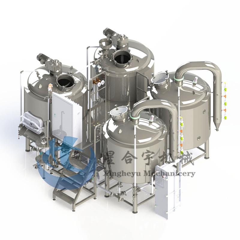 4器蒸汽加热糖化设备