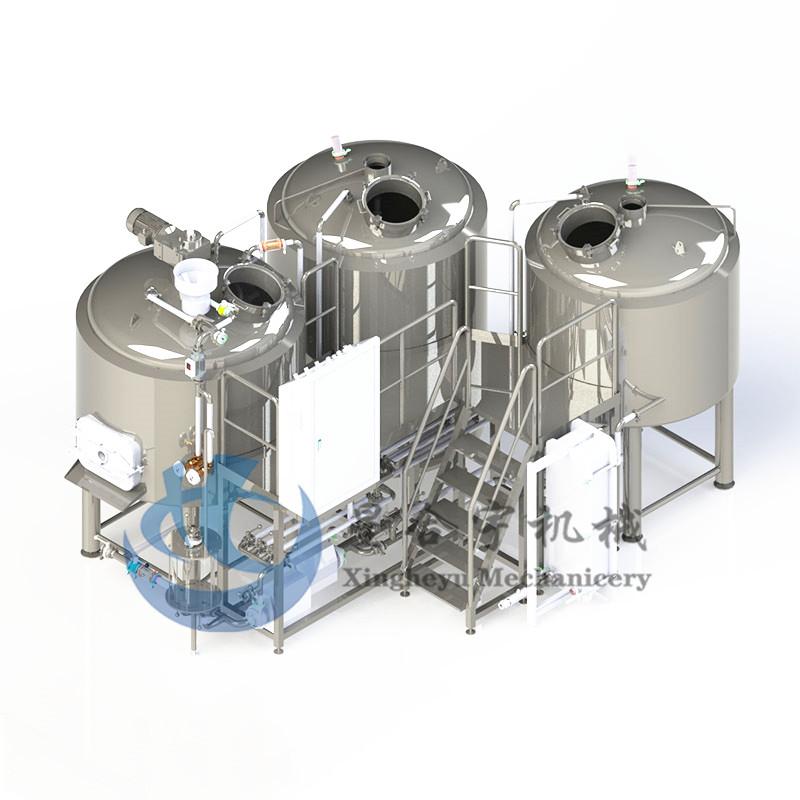 3器火加热糖化设备