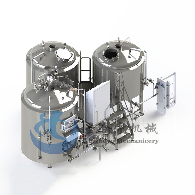 3器组合火加热糖化设备