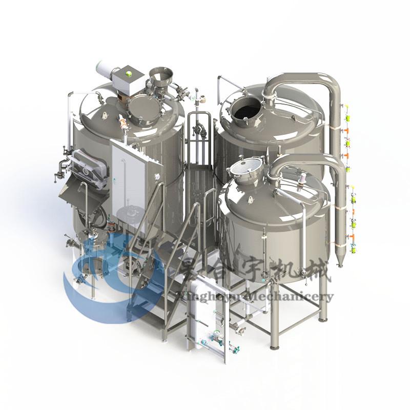 3器蒸汽加热糖化设备