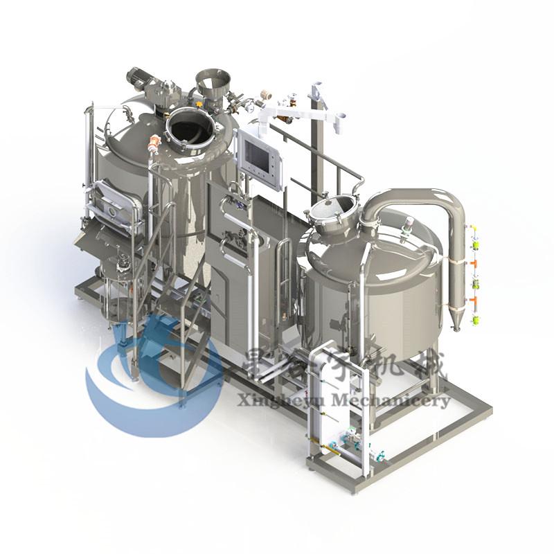 2器蒸汽加热糖化设备